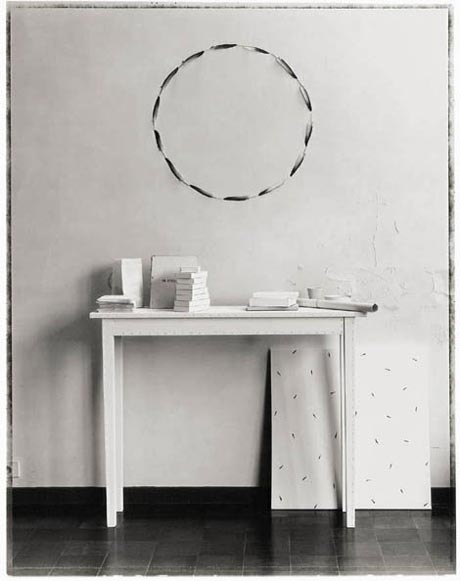 Ann Demeulemeester's Carte Blanche Tables   Apartment Therapy New York