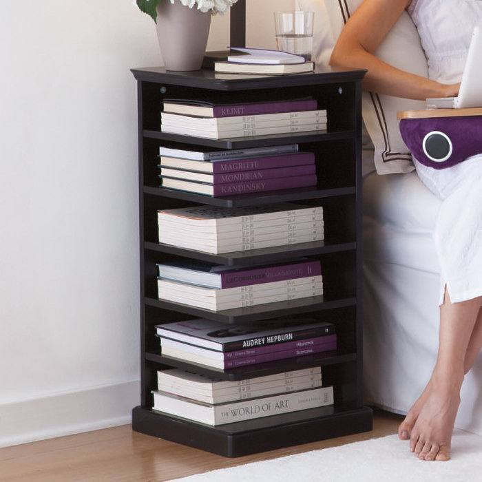 Reader Night Stands and Bookshelves at Brookstone—Buy Now!