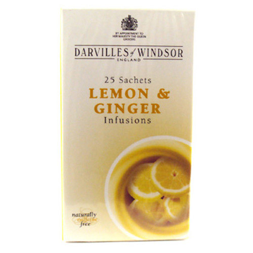Darvilles Of Windsor Lemon and Ginger F/H Infusions 25s
