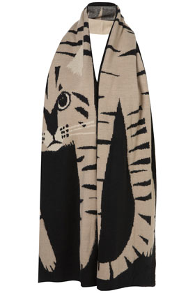 Cat Scarf - New In This Week - New In - Topshop