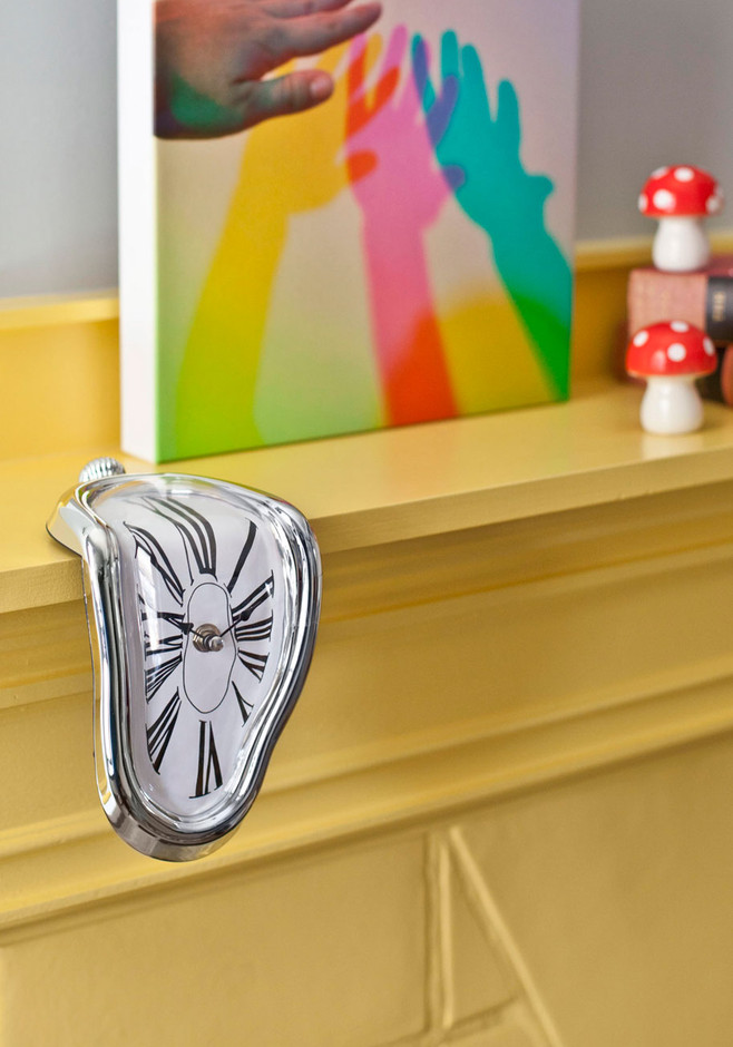In Surreal Time Clock | Mod Retro Vintage Wall Decor | ModCloth.com