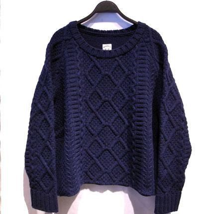 商品詳細 Fisherman sweater | DIVERSE
