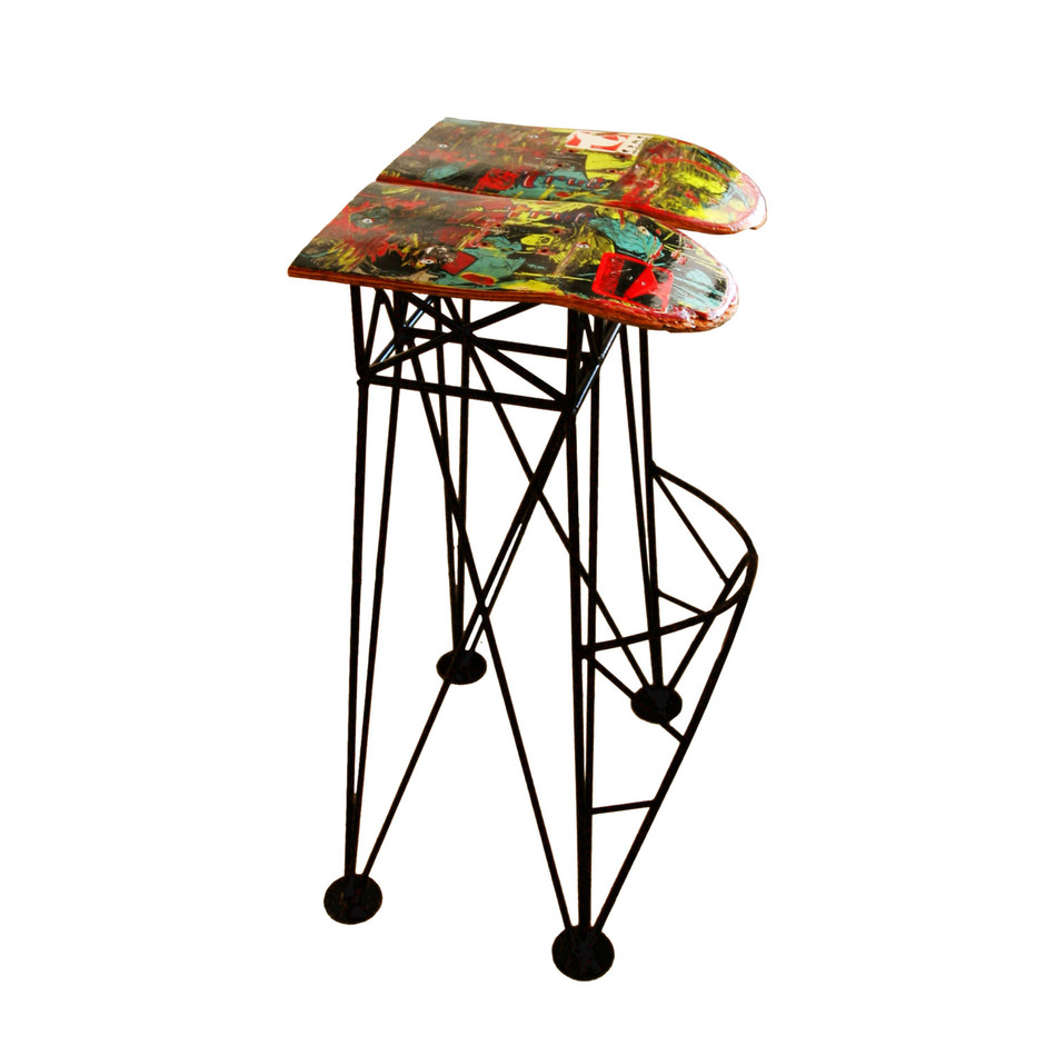 Queen Lili / Bar Stool by belcourt on Etsy