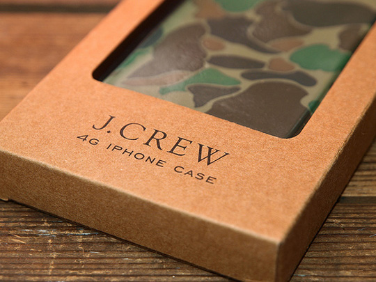 Men's new arrivals - accessories - Rubber iPhone 4 case - J.Crew