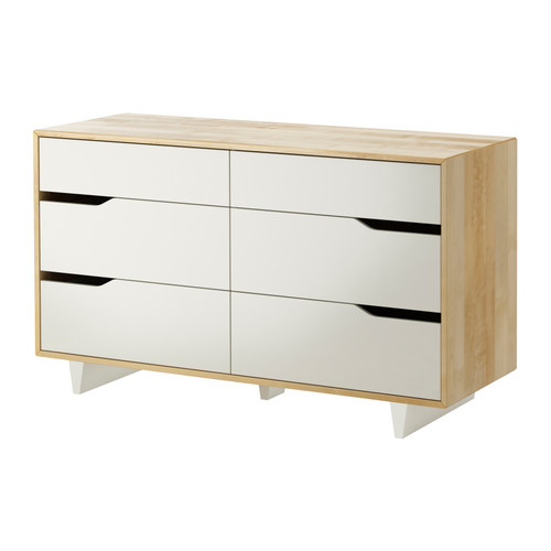 MANDAL Chest of 6 drawers - IKEA
