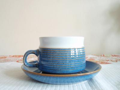 Denby 『Chatsworth』Teacup and Saucer デンビー チャッツワース カップとソーサー - GOOD OLD DAYS UK