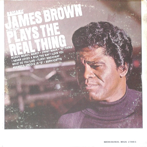 James Brown - Plays The Real Thing at Discogs