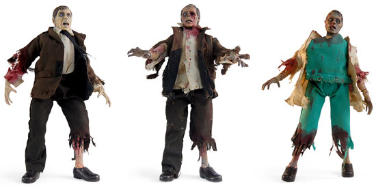 ThinkGeek :: DIY Zombie Customizable Action Figure Kit