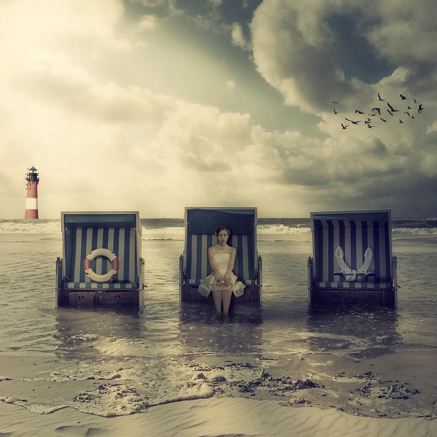 Waiting For The Flood Photograph by Joana Kruse - Waiting For The Flood Fine Art Prints and Posters for Sale
