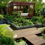 Landscape and Architecture / Burgbad Garden Bathroom by Amphibian Designs