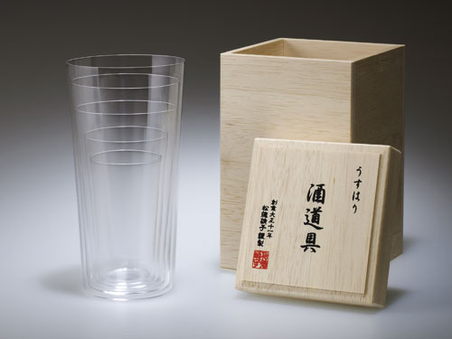 Usuhari Stacking Glasses, Glass - Design Within Reach | Shop | Kaboodle