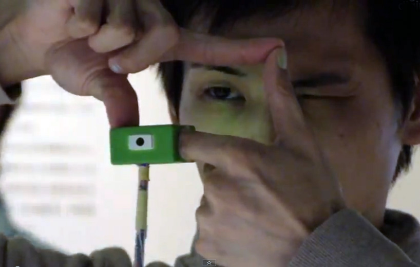 Ubi-Camera - Take Photos With Your Hands - DigInfo TV - Tech News Videos From Japan | The latest technology, products, gadgets and scientific research direct from Tokyo