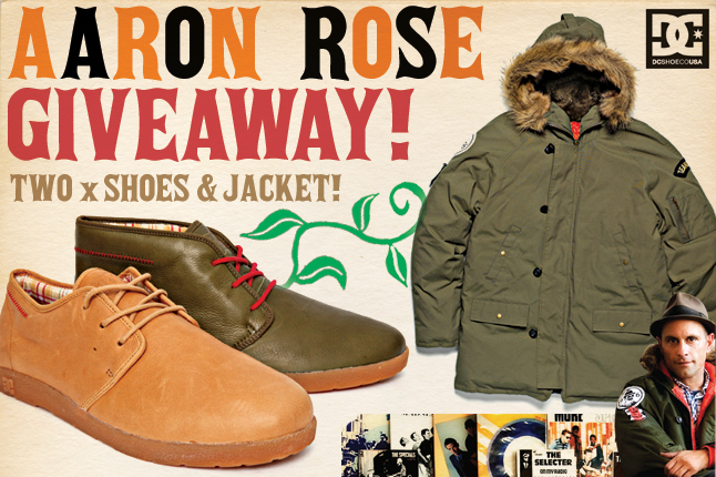 DC x Aaron Rose Artist Projects Collaboration | Aaron Rose Mid & Aaron Rose Parka • Highsnobiety