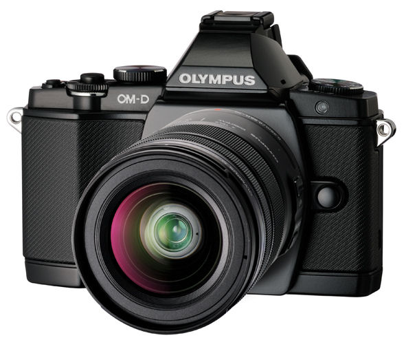 Olympus OM-D E-M5 camera looks like a DSLR with the optional battery grip | Photo Rumors