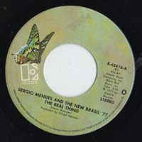 Sergio Mendes / The Real Thing -7 || VOXMUSIC WEB SHOP レコード通販