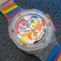 Swatch Summer Curves - Watch - SUIW401   Squiggly Swatch Watches and Straps