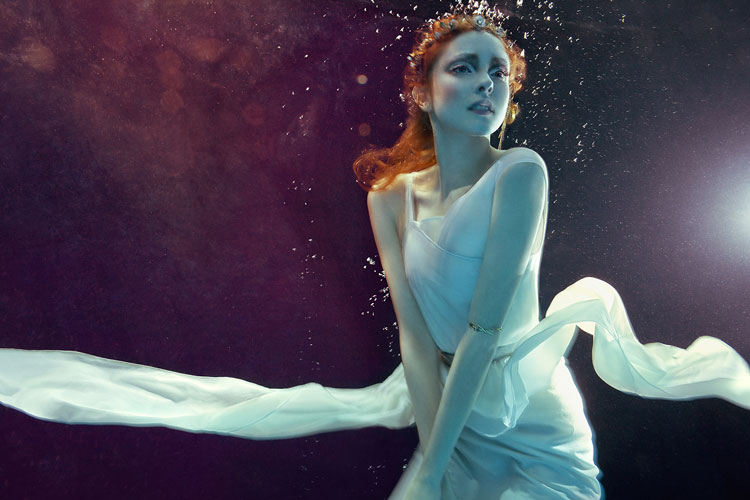 Editorial fashion and beauty for b.inspired magazine