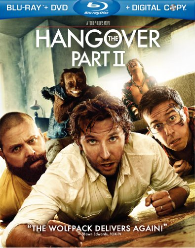 Amazon.com: The Hangover Part II (Blu-ray/DVD Combo + Digital Copy): Bradley Cooper, Zach Galifianakis, Todd Phillips: Movies & TV