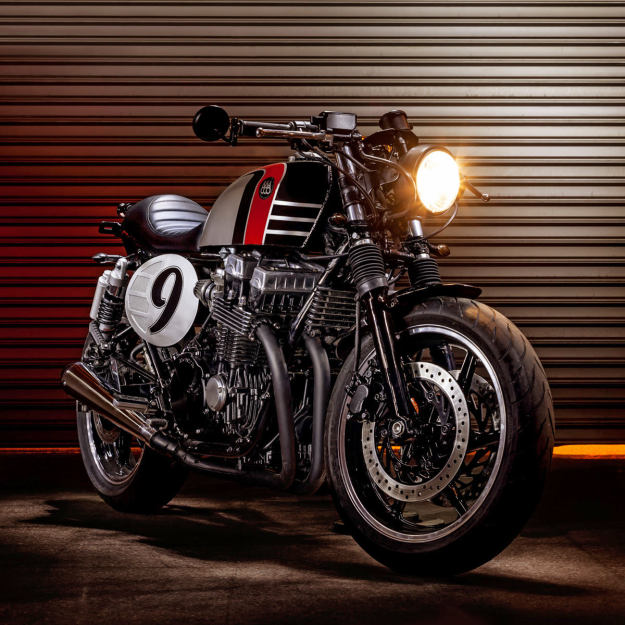 Back To The Future: custom Honda Nighthawk | Bike EXIF
