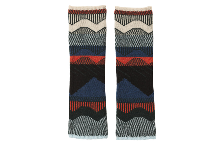 Graph Mittens / Circus Arm Warmers