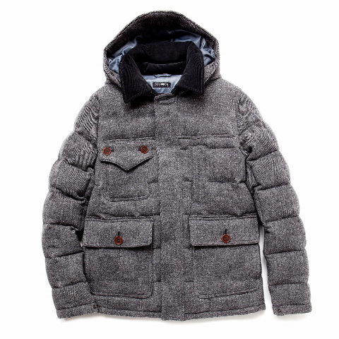 DOWN JACKET | Heather Grey Wall ONLINE store
