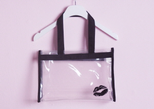 kiss clear bag