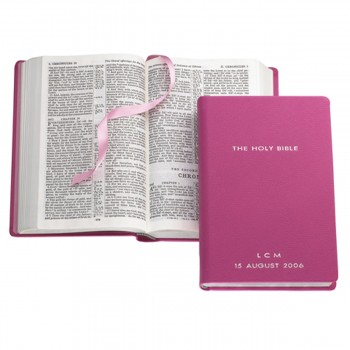 The Holy Bible, Magenta Collection, Collections, Smythson