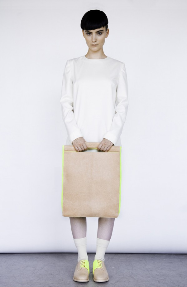 Alba Prat's Neon Old School Collection | Trendland: Fashion Blog & Trend Magazine
