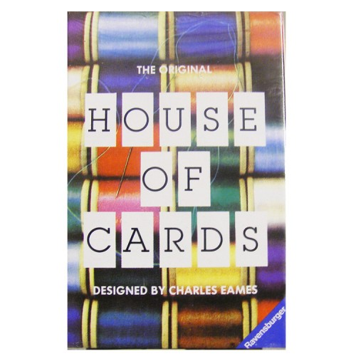House of Cards (small) | Eames Office | Charles & Ray Eames