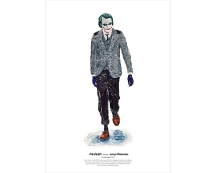 He Wears It 012 The Joker wears Junya Watanabe by wooszoo