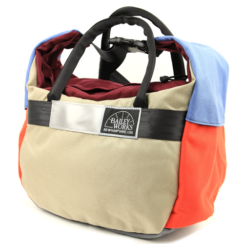 BLUE LUG / *BAILEYWORKS* whale mouth duffel BL special (extra small/C)