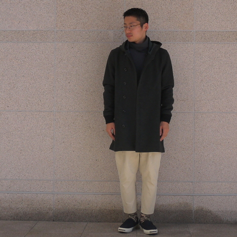 【 CURLY 】 FROSTED COAT