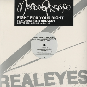 MONDO GROSSO / FIGHT FOR YOUR RIGHT | Record CD Online Shop JET SET / レコード・CD通販ショップ ジェットセット