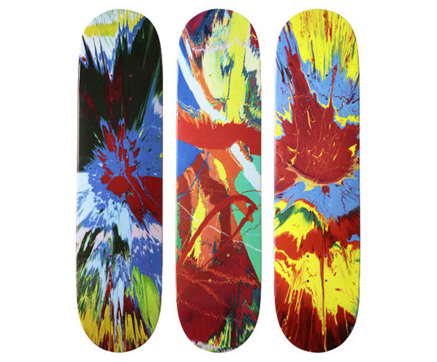 Damien Hirst for Supreme Skate Decks - Numelo.com Blog Online Shop | Numelo.com Blog Online Shop