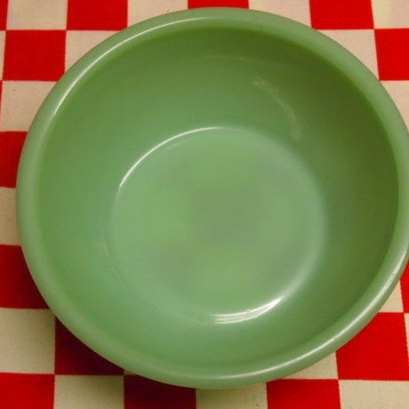 FIRE KING Jadeite Restaurantware G300 15-oz Bowl | Jadeite Magic Gallery