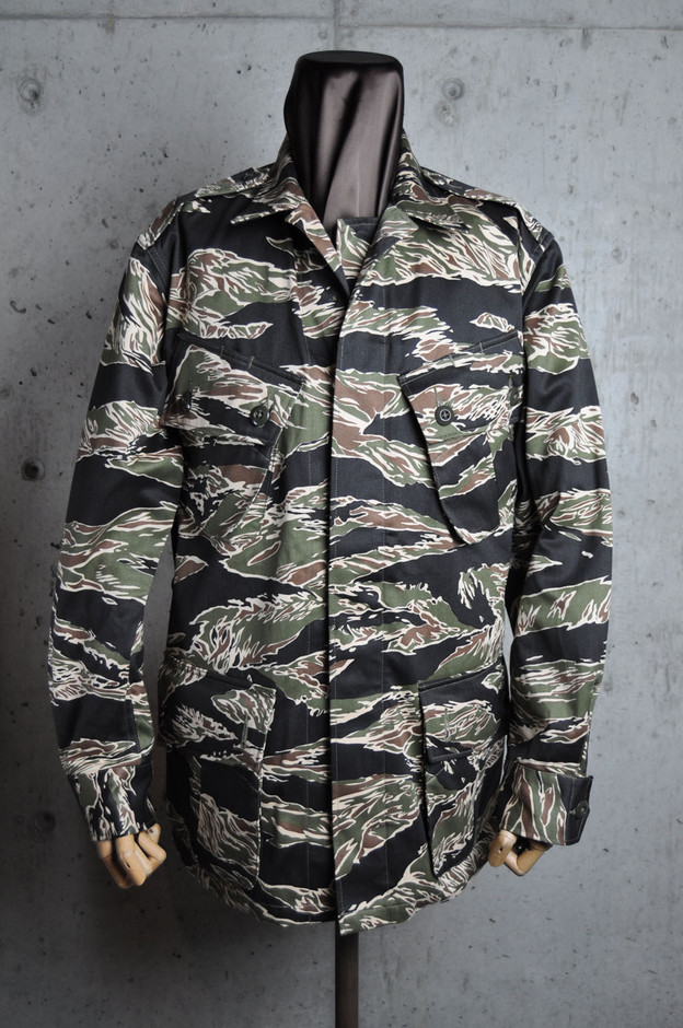 THE REAL McCOY'S WEB CATALOG/商品詳細 TIGER ADS FATIGUE JACKET