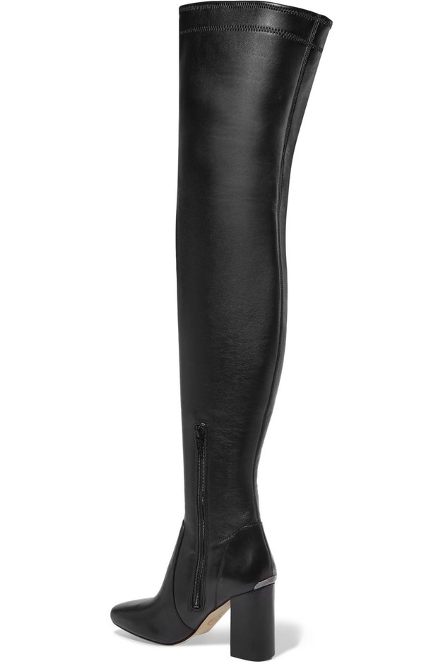 MICHAEL Michael Kors | Chase leather over-the-knee boots | NET-A-PORTER.COM