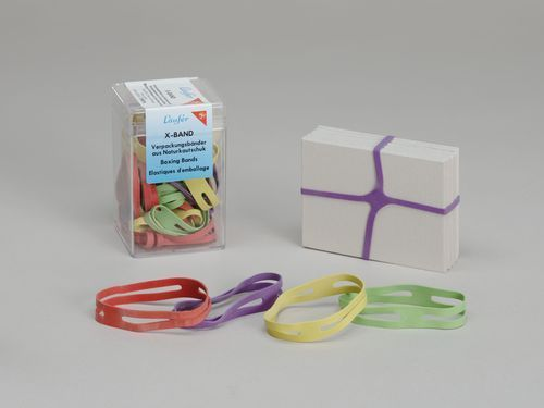 "MoMA | The Collection | Unknown Designer. ""X-Band"" Rubber Bands. c. 1995"