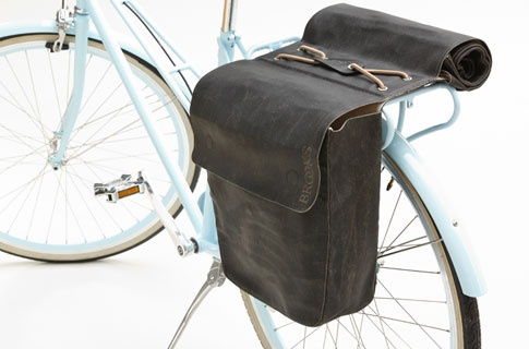 BROOKS ENGLAND LTD. | CYCLE BAGS & ACCOUTREMENTS | BRICK LANE ROLL-UP PANNIERS