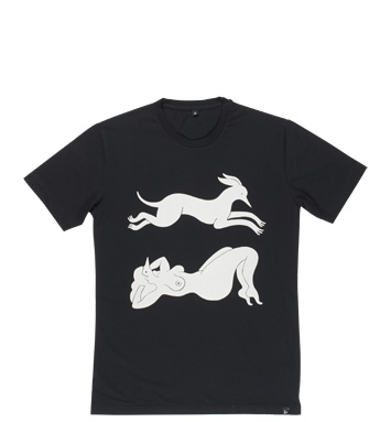 Rockwell by Parra - t-shirt sleep and leap (made in Portugal)