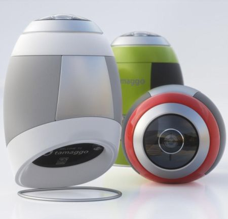 Tamaggo 360-imager Shoots 360-Degree Images With Ease - Technabob