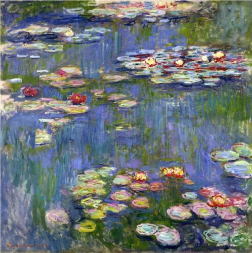 Water Lilies - Claude Monet - WikiPaintings.org
