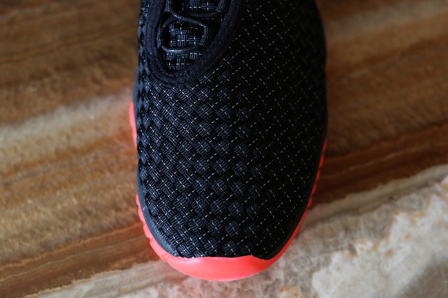 Jordan Future Black/Infrared | Hypebeast