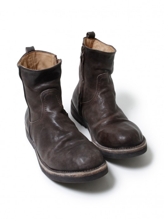 nonnative » VOYAGER SIDE ZIP UP BOOTS – ITALIAN COW LEATHER VW