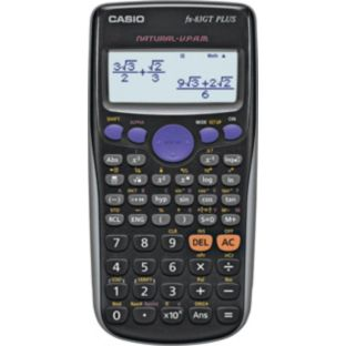 Buy Casio FX-85GT Plus Twin Powered Scientific Calculator at Argos.co.uk - Your Online Shop for Electronic dictionaries and calculators.