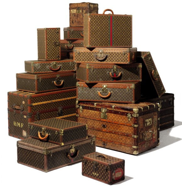 Vintage Luggage — Luxist