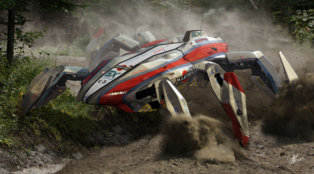 I really wish there were races of these awesome spider mechs