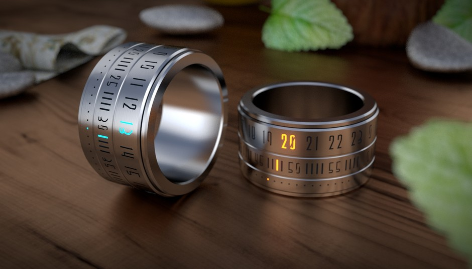 Ring Clock - The marriage of the ring and the watch