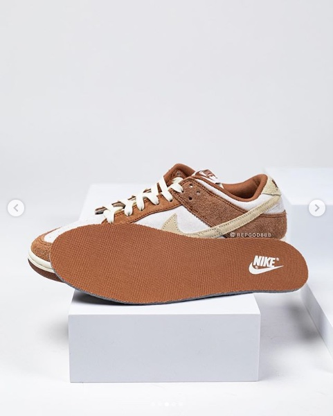 Nike Dunk Low PRM Sail Medium Curry Fossil DD1390-100 Release Date - SBD
