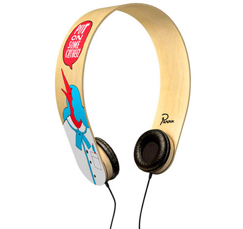 Parra x David Burel Headphones - BOOOOOOOM! - CREATE * INSPIRE * COMMUNITY * ART * DESIGN * MUSIC * FILM * PHOTO * PROJECTS
